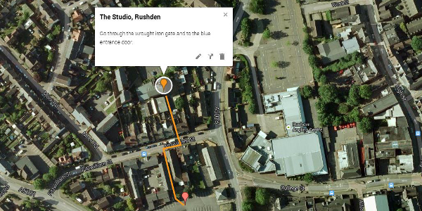 map - the studio